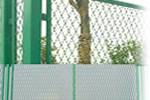 Expanded Steel Nets for Chicken Fences